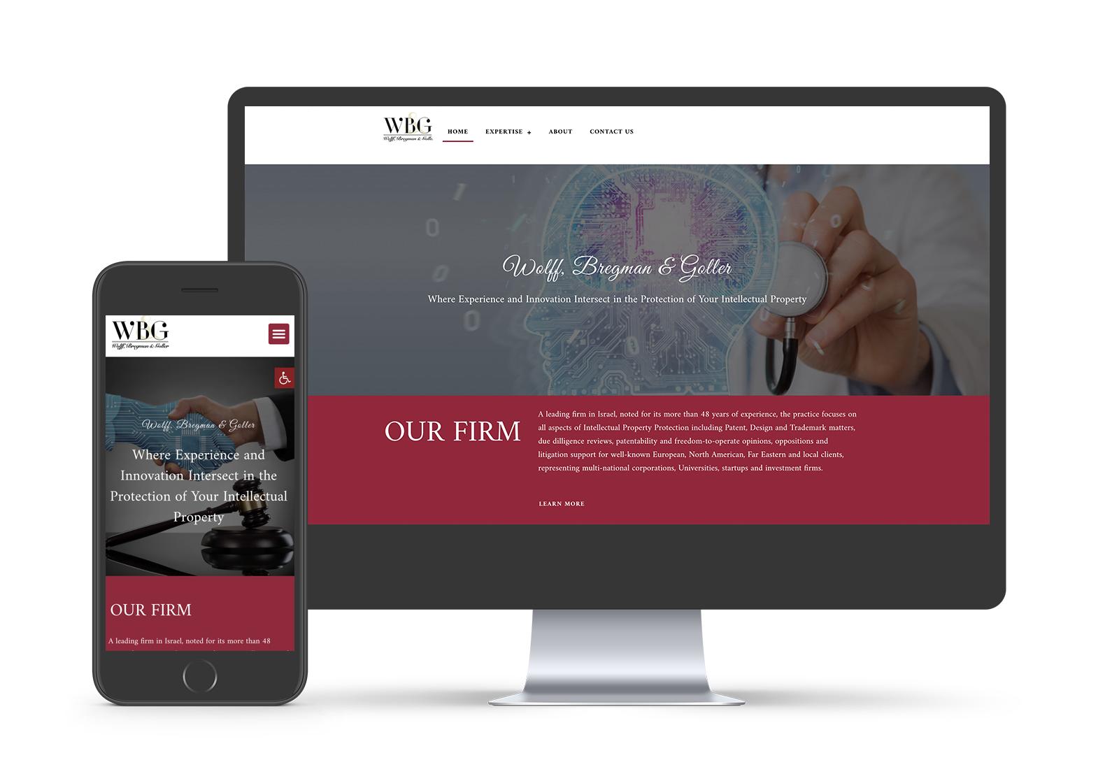 עיצוב אתר למשרד עורכי דין